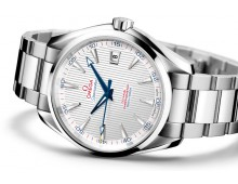 AQUA TERRA Automatic 150 M XXL SMALL SECONDS at 6 o clock