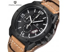 Original PAGANI DESIGN Men Military Exclusive Chronograph Watch