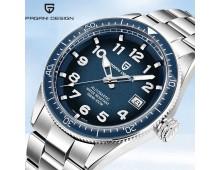 Pagani Design Mens Fashion Automatic Military Watch Luxury Brand 100M Waterproof Mechanical Watches Blue Sport Diving Man Clocks