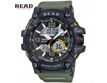 READ military sports digital Chronograph watch-Green
