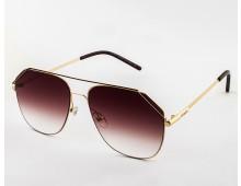 FENDI Modified Aviator Sunglasses