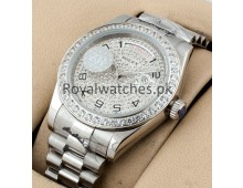 Rolex President Day Date Full Diamonds Exclusive Watches AAA+