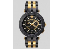 Versace Men's V-Race Watch Dual Time