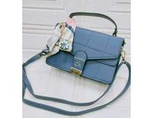 Calvien Cross Body Bag With  Belt Synthetic Leather Material
