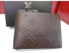 Louis Vuitton Exclusive Synthetic Men's  Leather Wallet