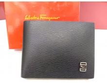 Salvatore Ferragamo Mens Synthetic Leather Wallet