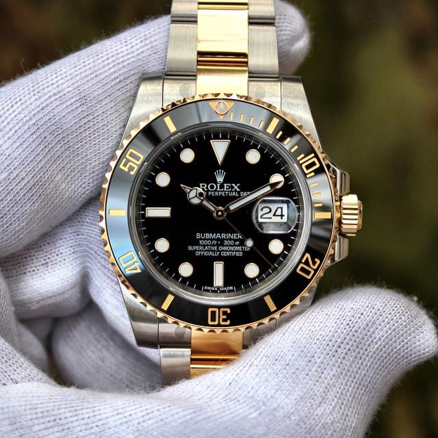 Rolex Submariner 2 tone